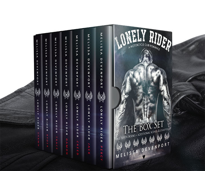 Lonely Rider - The Box Set - by Melissa Devenport ♥
