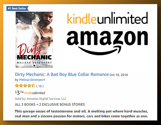 Dirty Mechanic is #1 Best Seller on Amazon