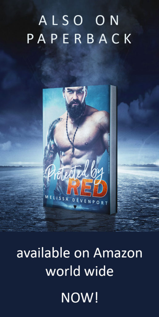 Protected By Red paperback by Melissa Devenport